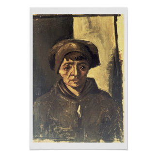 Vincent van Gogh   Bust of a Peasant, 1884 Poster