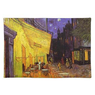 Vincent Van Gogh Cafe Terrace At Night Fine Art Placemat