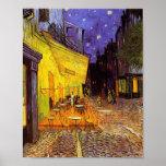 Vincent Van Gogh Cafe Terrace At Night Fine Art Poster