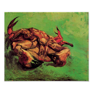 Vincent Van Gogh - Crab On Its Back Fine Art Poster