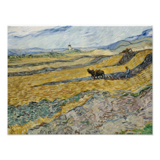 Vincent van Gogh - Enclosed Field with Ploughman Photograph