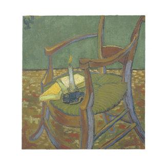 Vincent Van Gogh - Gauguin's Armchair painting Notepad