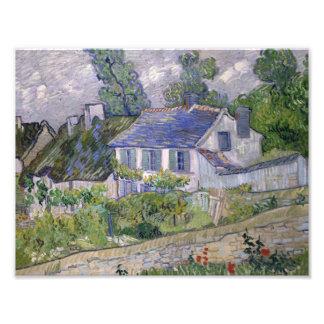 Vincent van Gogh - Houses at Auvers Photo Art