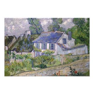 Vincent van Gogh - Houses at Auvers Photo Print