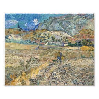 Vincent Van Gogh Landscape At Saint-Remy Fine Art Photo Art