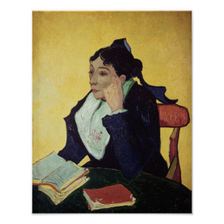 Vincent van Gogh | L'Arlesienne  1888 Poster