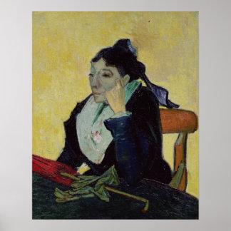 Vincent van Gogh   L'Arlesienne  1888 Poster
