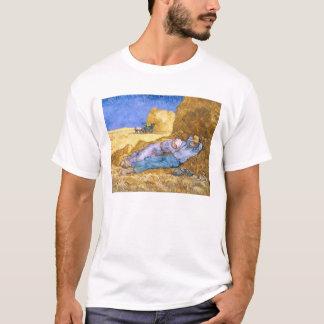 Vincent van Gogh | Noon, The Siesta, after Millet T-Shirt