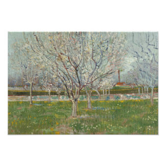 Vincent van Gogh - Orchard in Blossom Photographic Print