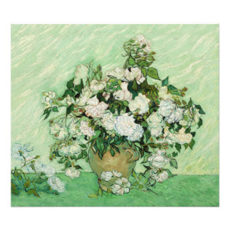 Vincent van Gogh Painting, Roses 1890 Photo