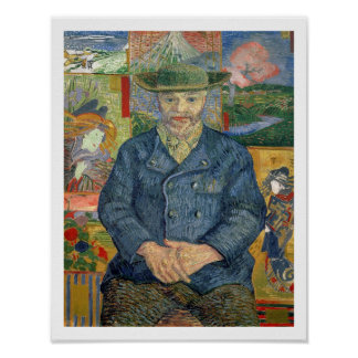 Vincent van Gogh   Pere Tanguy (Father Tanguy) Poster
