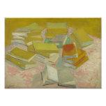 Vincent van Gogh - Piles of French novels