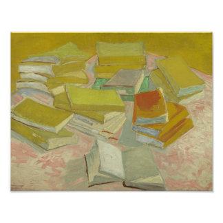 Vincent van Gogh - Piles of French Novels Art Photo