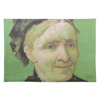 Vincent Van Gogh Portrait of Artist's Mother Art Placemat