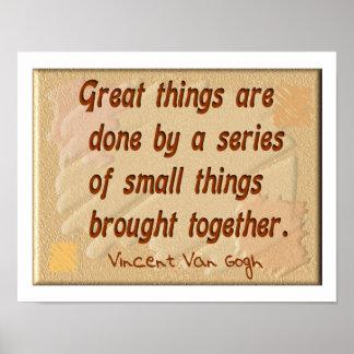 Vincent Van Gogh - Poster
