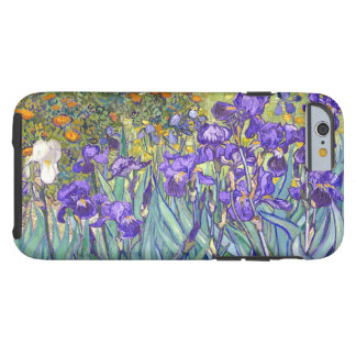 Vincent Van Gogh Purple Irises Floral Fine Art Tough iPhone 6 Case
