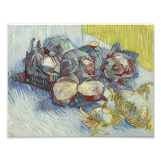 Vincent van Gogh - Red Cabbages and Onions Art Photo