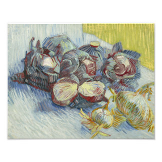 Vincent van Gogh - Red Cabbages and Onions Photograph