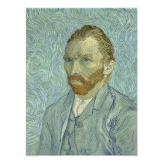 Vincent Van Gogh Self-Portrait 1889 Photo