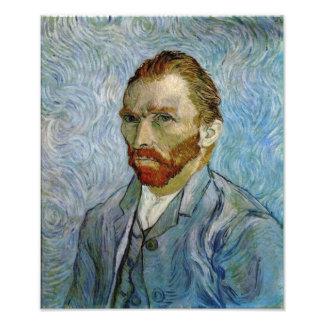 Vincent Van Gogh Self Portrait Photograph