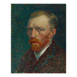 Vincent Van Gogh Self-Portrait Poster