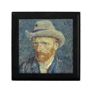 Vincent Van Gogh Self Portrait with Grey Felt Hat Gift Box