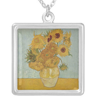 Vincent van Gogh Silver Plated Necklace