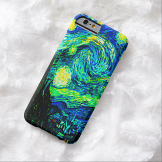 Vincent Van Gogh Starry Night Enhanced Barely There iPhone 6 Case
