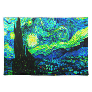 Vincent Van Gogh Starry Night Enhanced Placemat