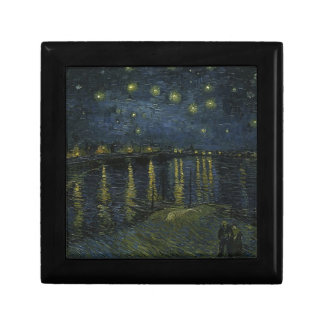 Vincent Van Gogh Starry Night Over the Rhone Art Gift Box
