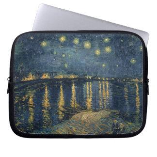 Vincent van Gogh | Starry Night Over the Rhone Laptop Sleeve