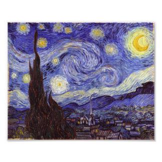 Vincent Van Gogh Starry Night Photo