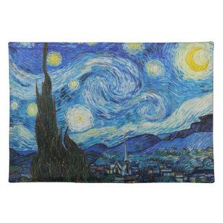 Vincent van Gogh - Starry Night Placemat