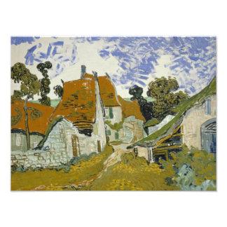 Vincent van Gogh - Street in Auvers-sur-Oise Photograph