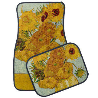 Vincent Van Gogh Sunflowers Car Mat