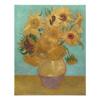 Vincent Van Gogh - Sunflowers Photo Print