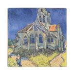 Vincent van Gogh | The Church at Auvers-sur-Oise Maple Wood Coaster