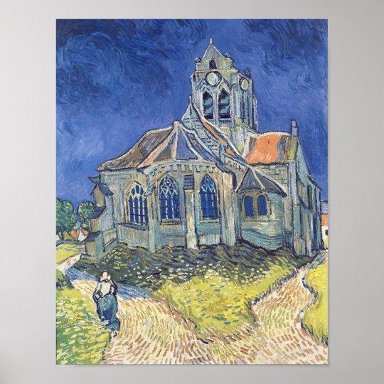 Vincent van Gogh | The Church at Auvers-sur-Oise Poster