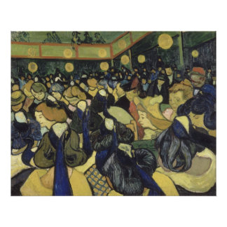 Vincent van Gogh - The Dance Hall in Arles Photo Print