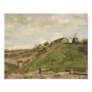 Vincent van Gogh - The Hill of Montmartre Photograph