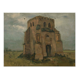 Vincent van Gogh - The Old Church Tower at Nuenen Photo Print