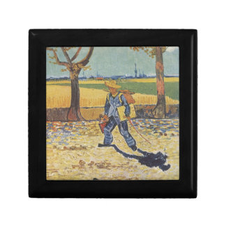 Vincent Van Gogh - The Painter on his Way to Work Gift Box