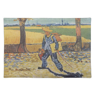 Vincent Van Gogh - The Painter on his Way to Work Placemat