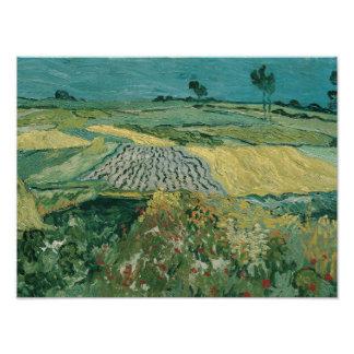 Vincent van Gogh - The Plain of Auvers Photograph