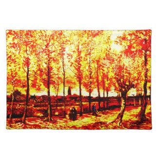 Vincent Van Gogh - The poplars in Nuenen 3 Placemat