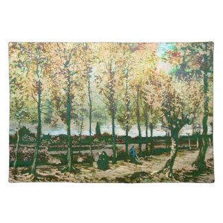 Vincent Van Gogh - The poplars in Nuenen Placemat