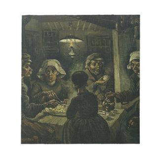 Vincent Van Gogh The Potato Eaters Painting. Art Notepad