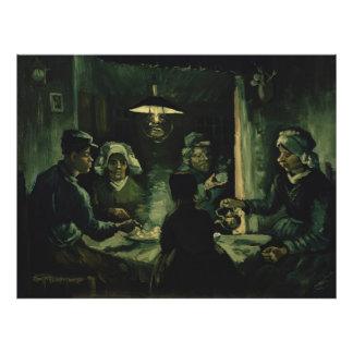 Vincent van Gogh - The potato eaters Photograph