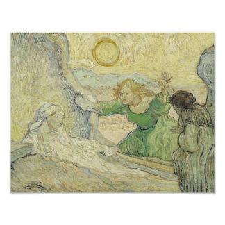 Vincent van Gogh - The Raising of Lazarus Photograph