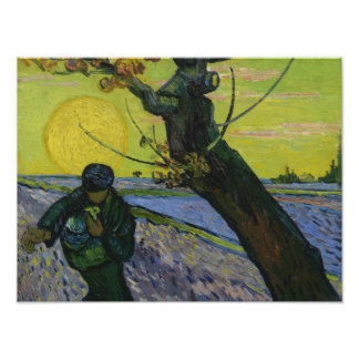 Vincent van Gogh - The Sower Photo